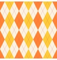 Seamless classical argyle pattern vector image vector image