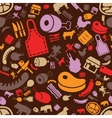 butcher pattern vector image
