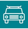 Cab vector image