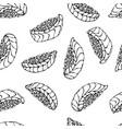 image salmon nigiri sushi ikura sushi pattern vector image