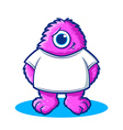 Monster Character vector image