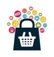e-commerce icon vector image