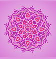 ornamental mandala vector image