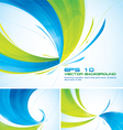 duotone abstract background vector image