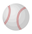 ball for baseball baseball single icon in cartoon vector image