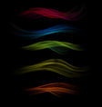 Abstract Waved Design vector image vector image