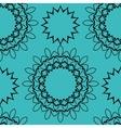 Seamless tile for orientl style wallpaper vector image