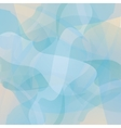 Abstract turquoise geometric background vector image