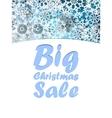 Christmas Big sale design template vector image