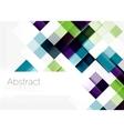 Square shape mosaic pattern design Universal vector image