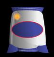 sack bag vector image vector image