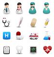 medical icons symbols vector image