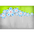 spring background green vector image