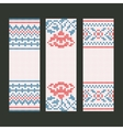 Banners decorative set vector image vector image