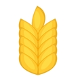 Wheat ear icon cartoon style vector image