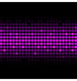 abstract purple lights vector image vector image