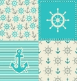 set sea seamless vector image