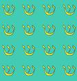 Sketch shin jewish symbol vector image