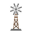 windmill rural icon image vector image