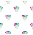 Color swatches icon in cartoon style isolated on vector image
