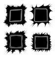 set the frame for paintings or photos frame vector image