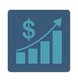 Sales Growth Icon vector image