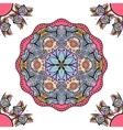 seamless ornament mandala vector image