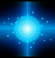 abstract blue light backgrounds vector image
