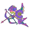 Colorful Cupid 2 vector image vector image