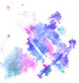 Watercolor splashes vector image