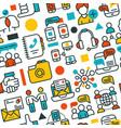 online education outline online school symbol vector image