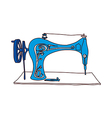 A sewing machine vector image vector image