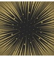 Shooting stars background Flying meteorites vector image
