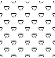Baby diaper pattern simple style vector image