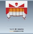 may 31st world no tobacco day no smoking day vector image