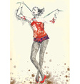 gymnastics and circus show vector image