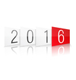 New Year 2016 vector image vector image