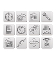 business and internet icons vector image