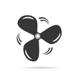 propeller icon rotation vector image