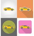 transport flat icons 43 vector image