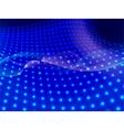 blue flow vector image vector image