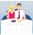 Romantic date vector image