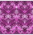 Hand drawn linear geometric pattern vector image