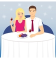 Romantic date vector image