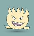 Funny monster Suitable for childrens stories and vector image