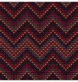 Knitted seamless pattern with colored frills vector image
