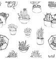 seamless pattern with various hand drawn vector image