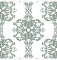 vintage baroque damask floral pattern vector image