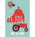 Old Farm vector image