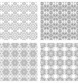 Circular Ornaments Pattern Set vector image